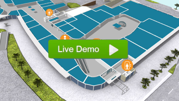 Interactive 3D floorplan demo