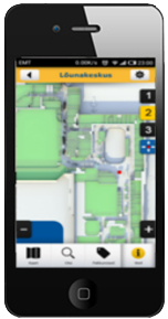 mobile wayfinding application