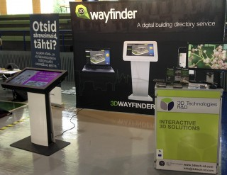 3D Wayfinder @ Rock IT