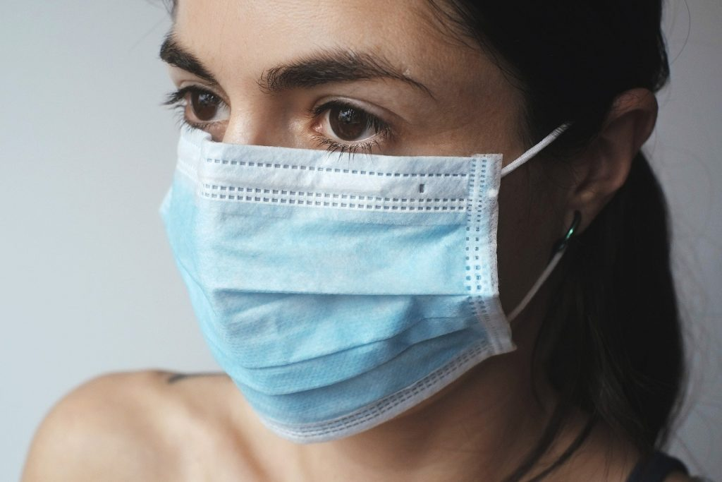 Wearing face mask - on response to COVID-19