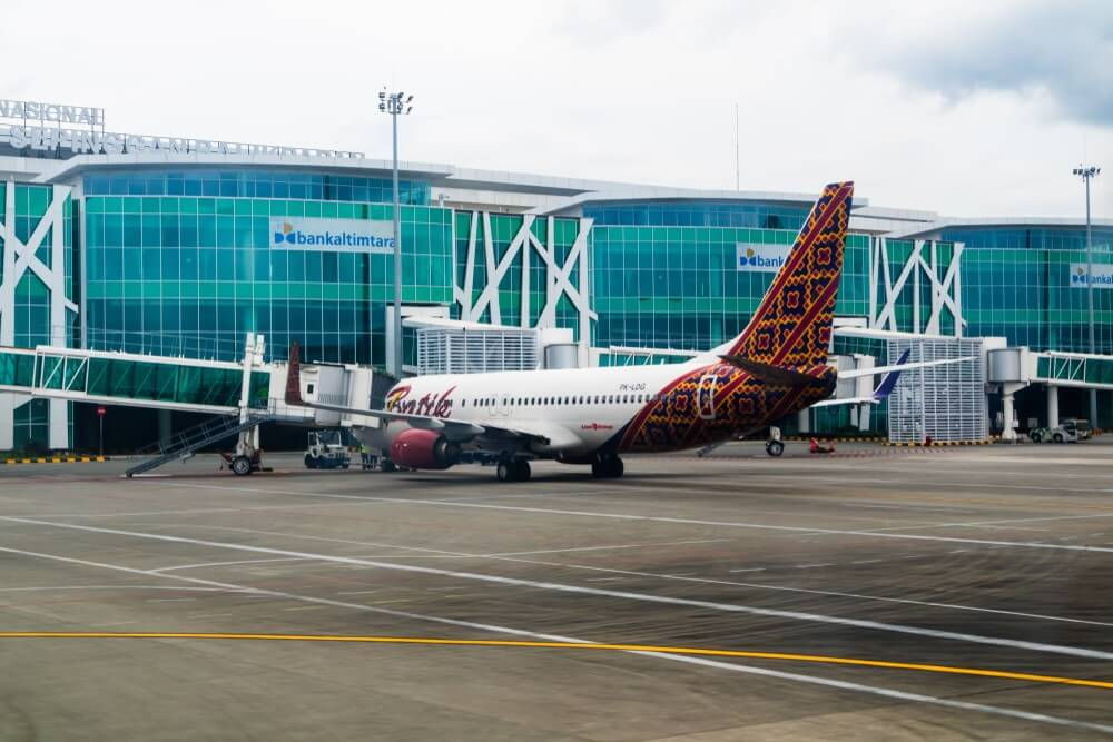 Sepinggan Airport wayfinding