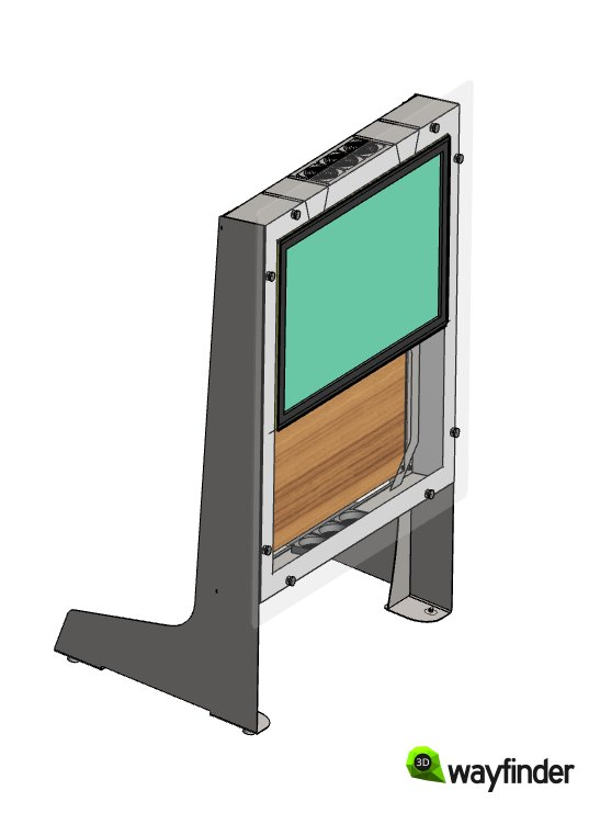 3D_kiosk_metal_frame_supporting_LCD_touch-screen