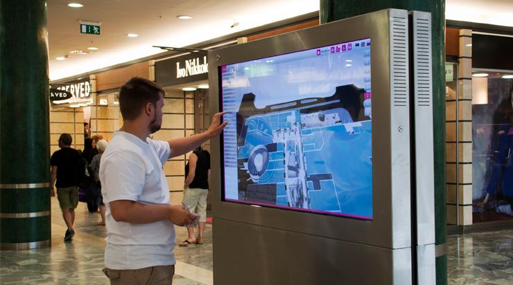 Wayfinding Kiosk 3d Wayfinder