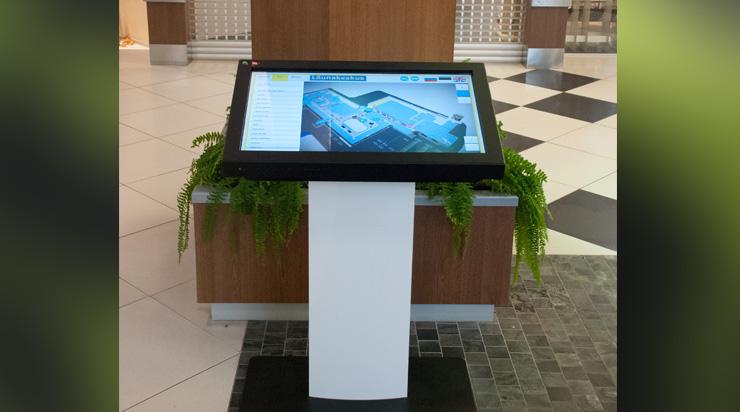 Kiosk 3d Wayfinder