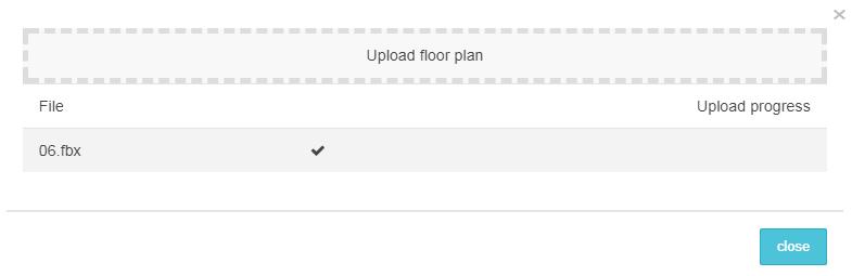 floor plan uploaded
