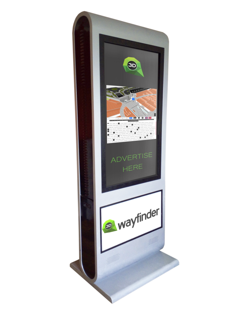 Wayfinder kiosk
