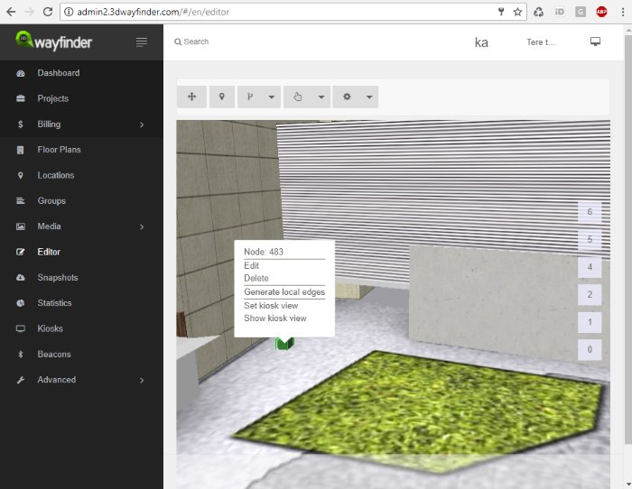 new 3D floorplan editor