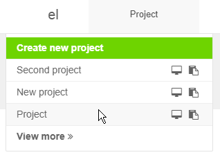project name drop